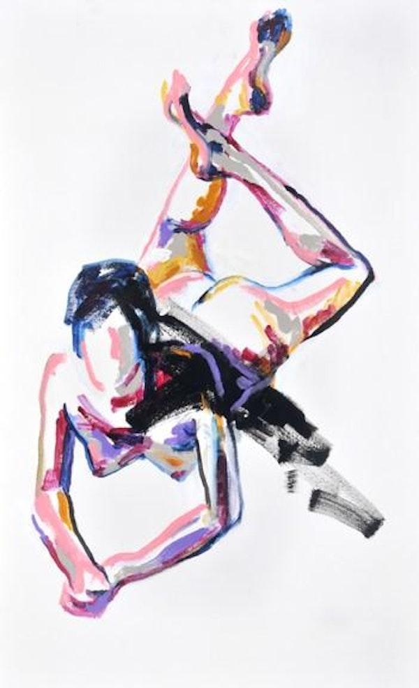 32ins x 20ins Acrylic on canvas  £2,650