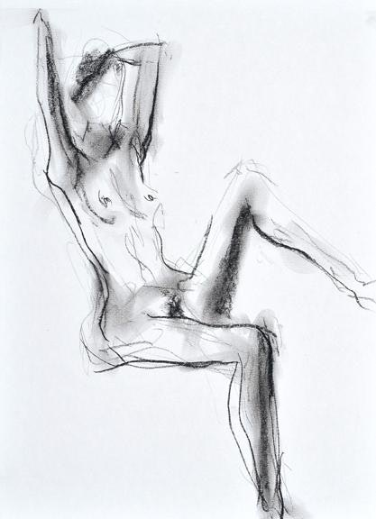 compressed charcoal on paper 22ins x 18ins £495